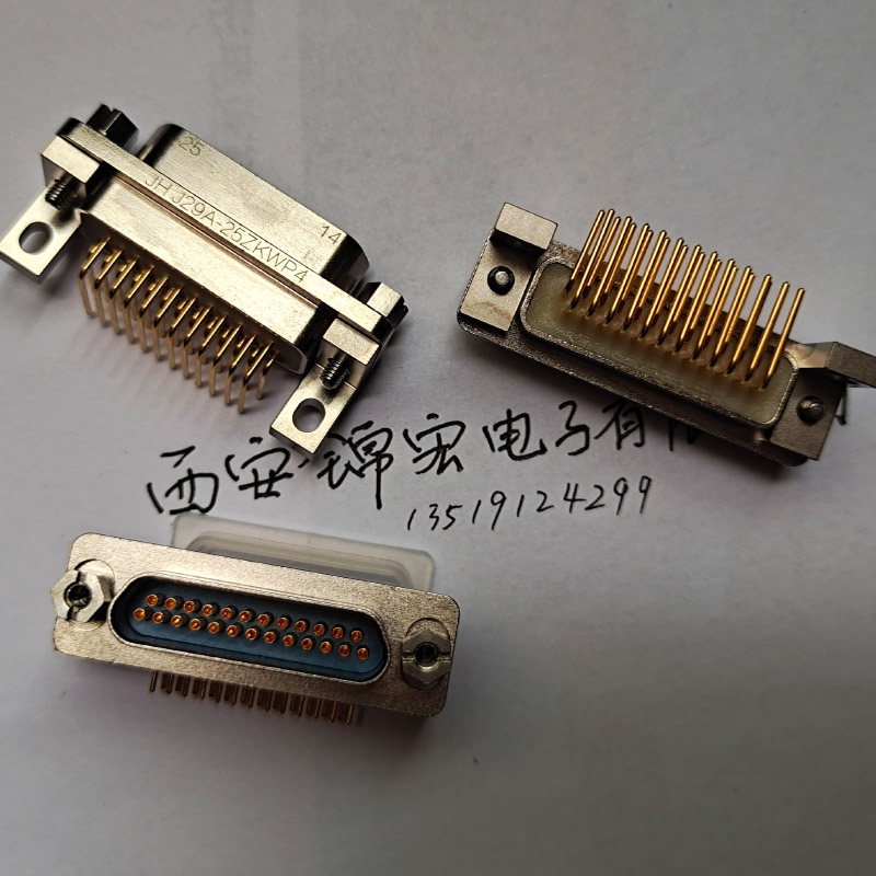 标准器件J29A-37ZKN-A1锦宏军标矩形连接器插座