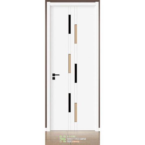 实色白门铝包边门  木门净味无漆木门 静音木门 铝木门