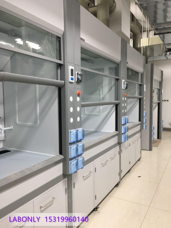 西安环境检测中心实验室多功能通风柜PP全钢钢木通风橱可定制