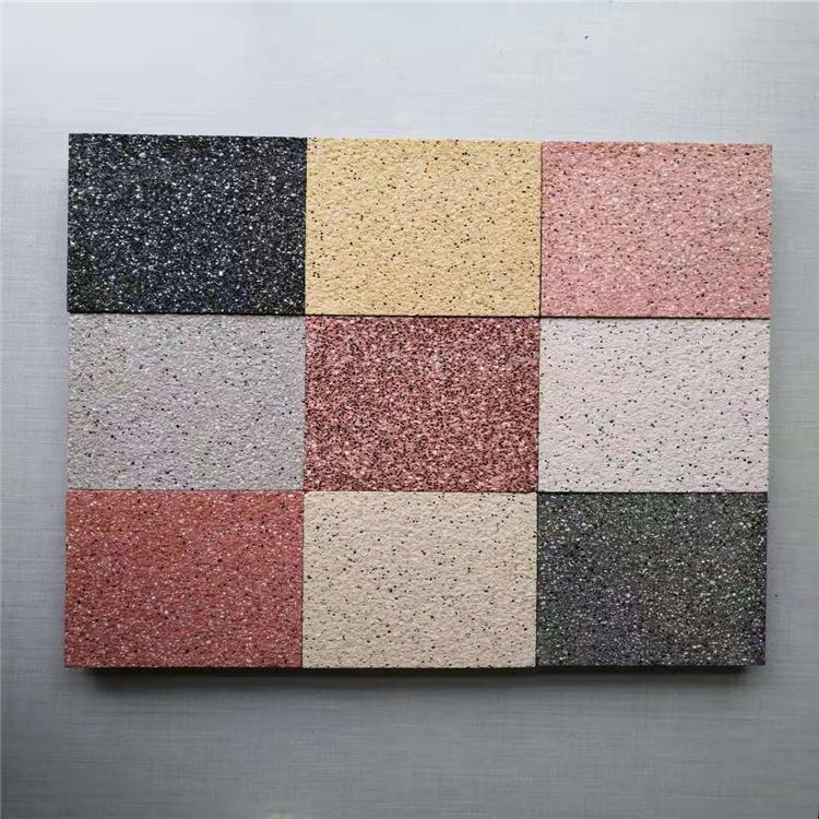 陕西广场砖厂家 仿石PC砖 环保PC砖 pc砖的价格