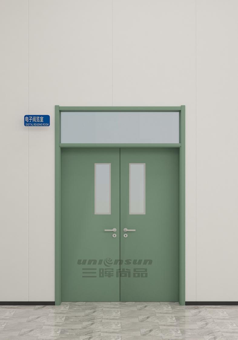 2021青海学校钢质门定制 西宁木质学校教室门宿舍门办公室门批发