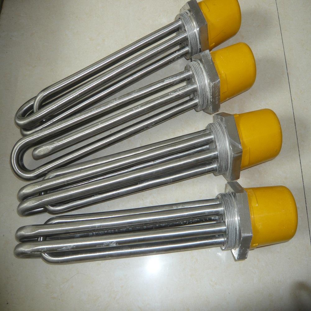 厂家定制不锈钢法兰加热管 大功率加热管 防爆加热管