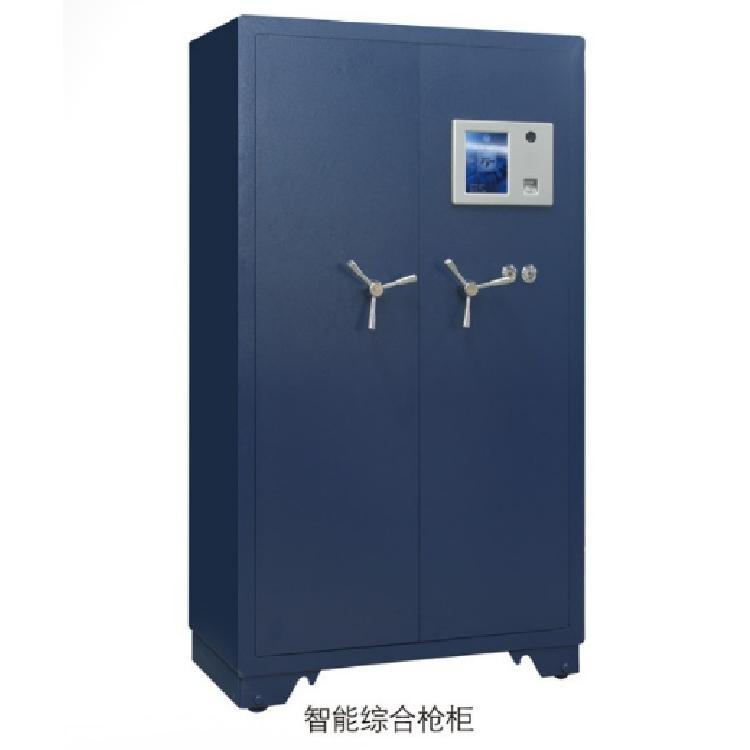 贵州厂家出售规格1800H*1000W*500Dmm指纹枪柜加厚钢板智能枪弹柜