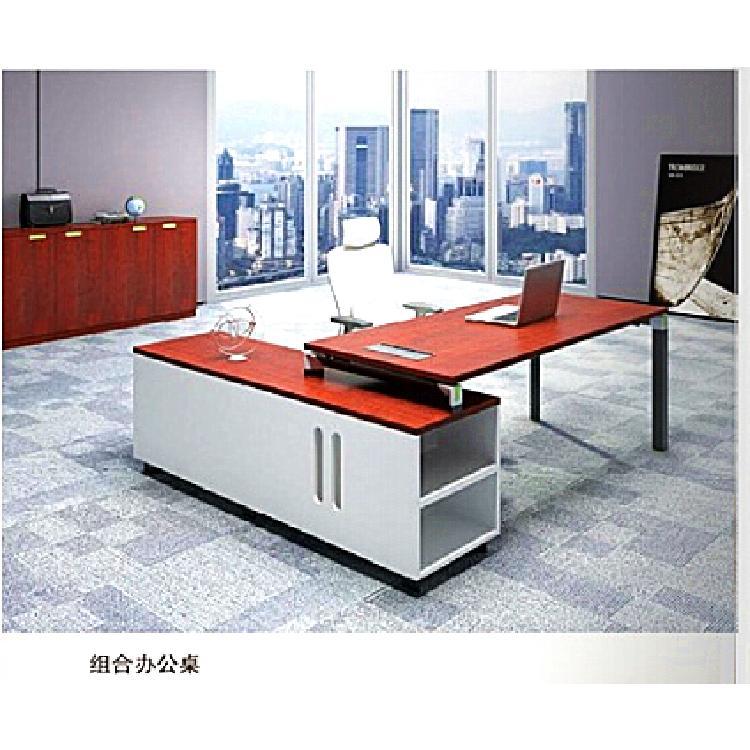 贵州厂家供应2020新款王字型四人位组合办公桌椅办公室员工位卡座4/6人位