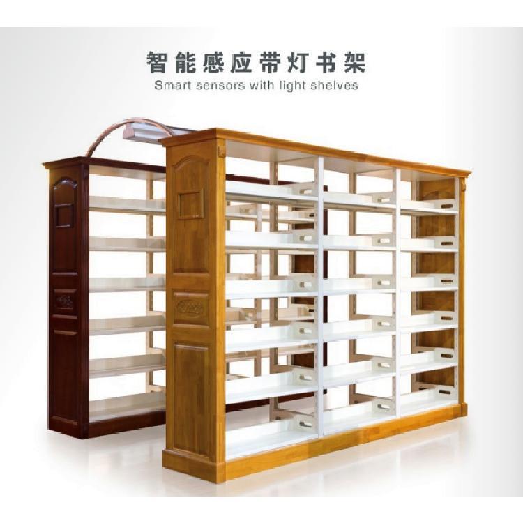 贵州图书设备书架学校图书馆阅览室组合书架资料可定制