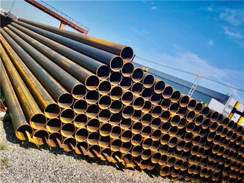 兰州焊管大量库存兰州大口径直缝焊管现货销售可加工拉弯
