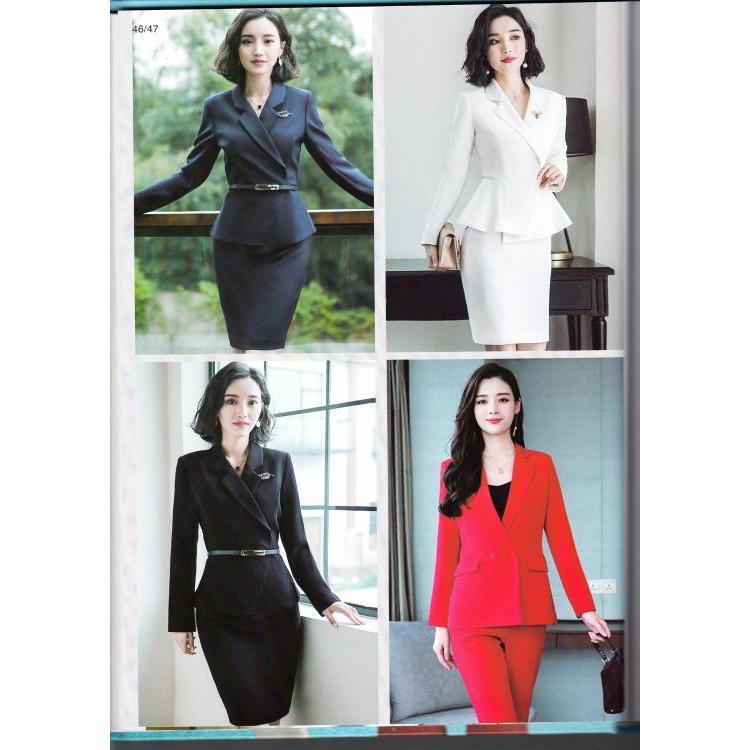 贵州可上门量身中秋优惠工作女西装高级定做展现完美身形绽放女性魅力