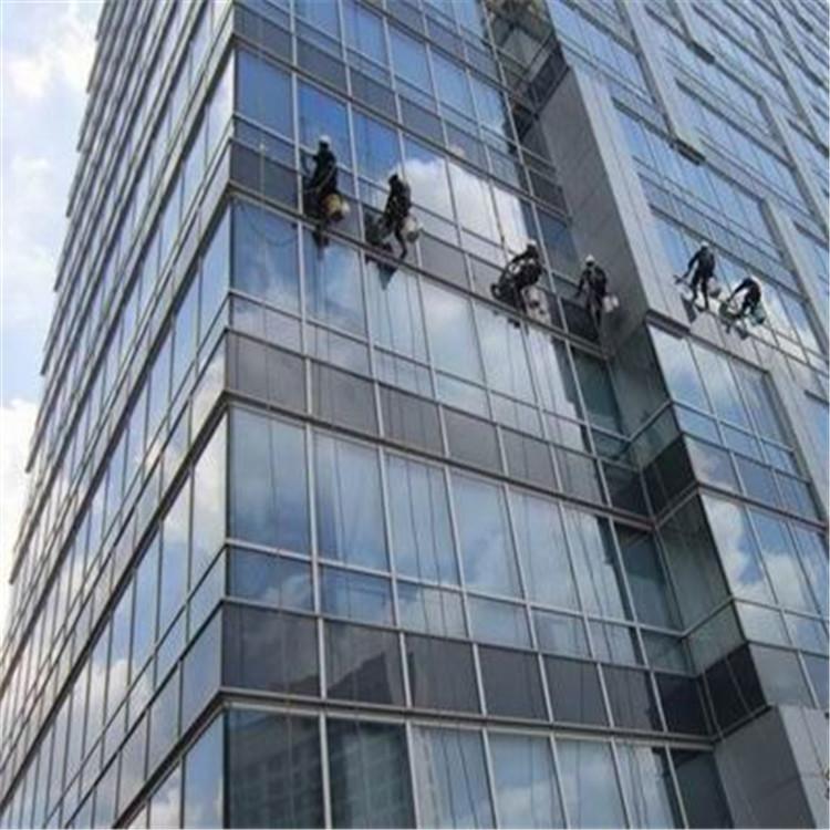 高空外墙清洗,石材玻璃外墙清洗