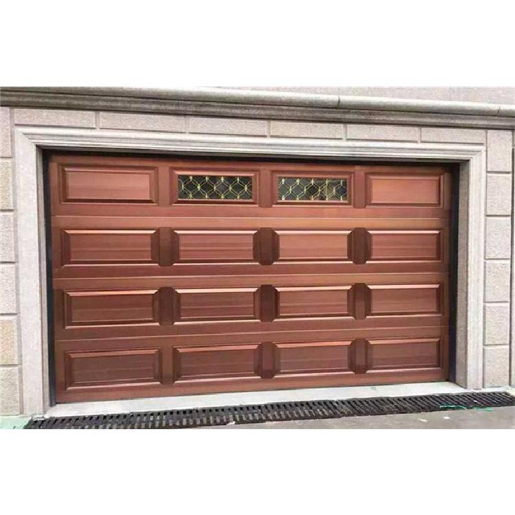 贵州厂家直销智能感应自动开门系统家用小区工厂翻板车库门