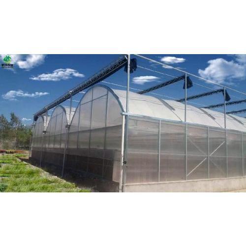 陕西拱顶式连栋温室 厂家承接各类型温室工程
