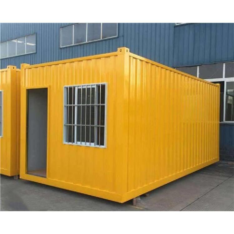贵州A级折叠式住人集装箱房定制快拼箱加厚彩钢板房工地活动临时移动房子