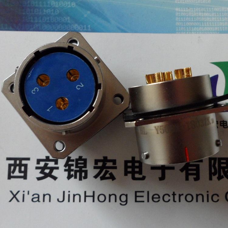 电缆插座【Y50DX-1803ZK10 Y50DX-1803ZK】锦宏牌电连接器