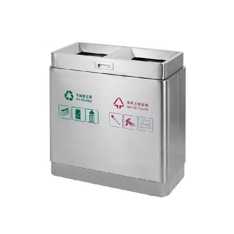 不锈钢垃圾桶设备 公共垃圾桶规格 厂家制定