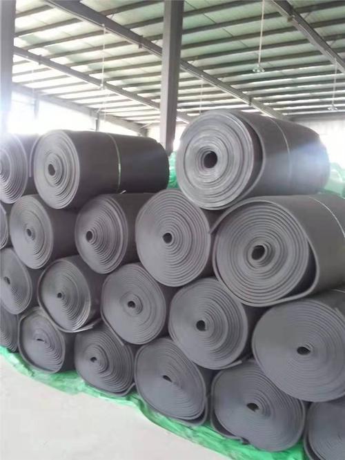 青海高密度橡塑保温板 空调管道保温防火橡塑海绵板 铝箔橡塑板定制 质量保障