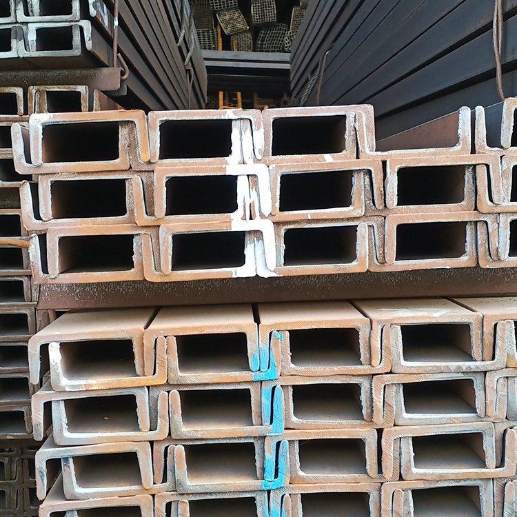 热轧镀锌槽钢现货 工程专用镀锌槽钢 建筑装饰镀锌槽钢