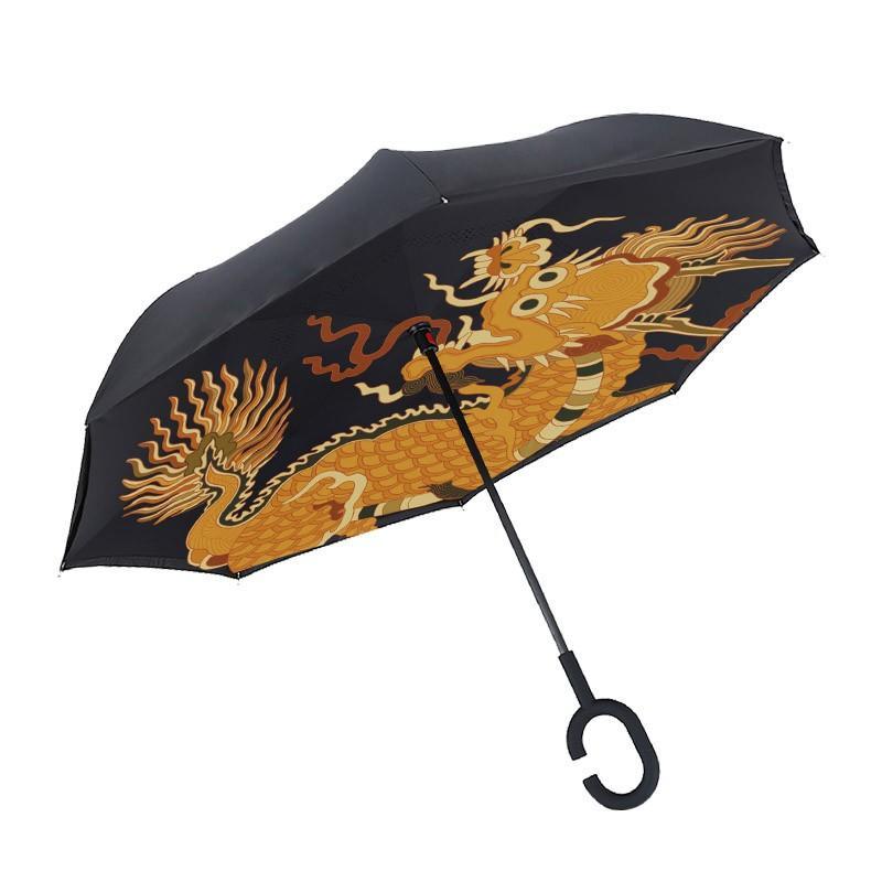 批发定制 高端故宫御用反向晴雨伞【故宫文创】【广告勿扰】