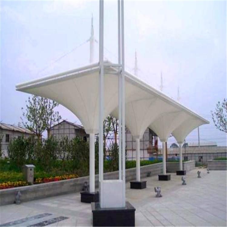 高速路收费站膜结构棚 收费站膜结构工程