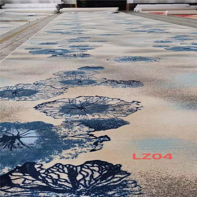 西安尼龙印花地毯 天雅地毯 450克圈绒 商家订购直销