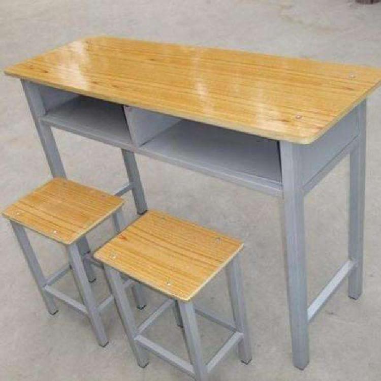 定制课桌椅 双人课桌椅 学校中小学生升降双人课桌 双人补习班课桌