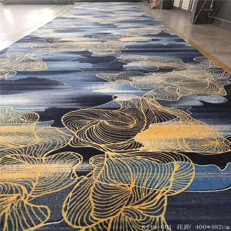 西安天雅尼龙印花地毯 长期供应定制地毯报价