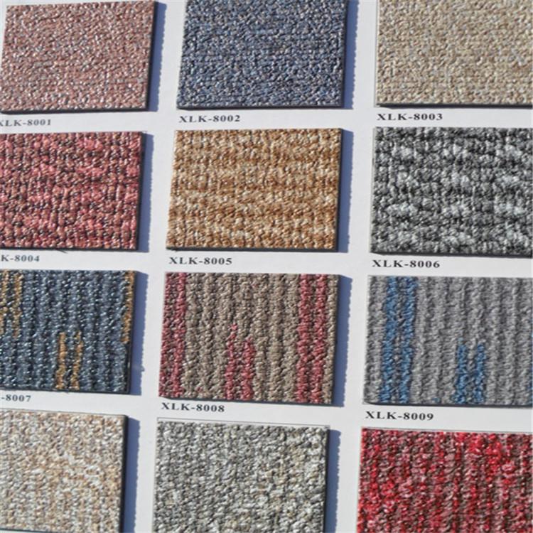 陕西PVC塑胶地板 医院学校车间办公室 耐磨密实底 商用PVC地板定制批发