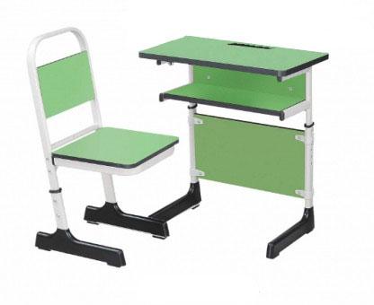 单人课桌 单人课桌椅 陕西西安课桌椅厂家 支持定制