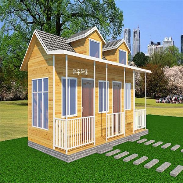 乡下山村农庄建轻钢木屋 湖玺小平米轻钢结构木屋