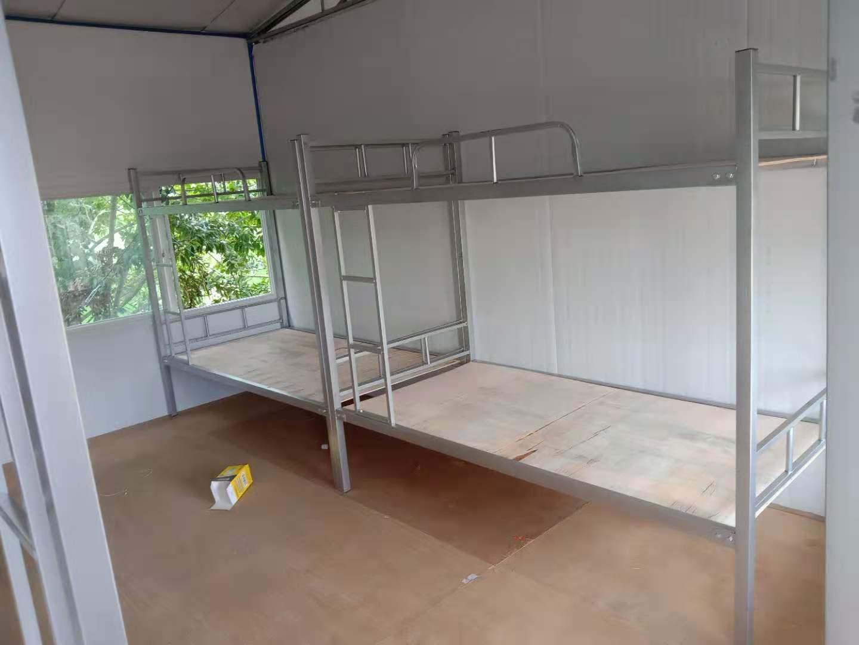 工地上下铺铁床 学校上下铺铁床 成都学生上下铺铁床专业生产