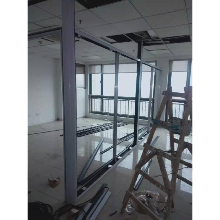 写字楼隔断批发 贵阳写字楼玻璃隔断 专业厂家上门安装