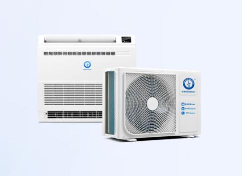 纽恩泰福家空气源热泵热风机2匹  暖风机  热风机  采暖