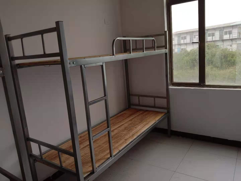 贵州学校宿舍用床 单位床 工地用铁床