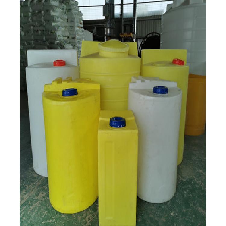 加药搅拌桶300升水处理水箱 食品级塑料加药搅拌箱