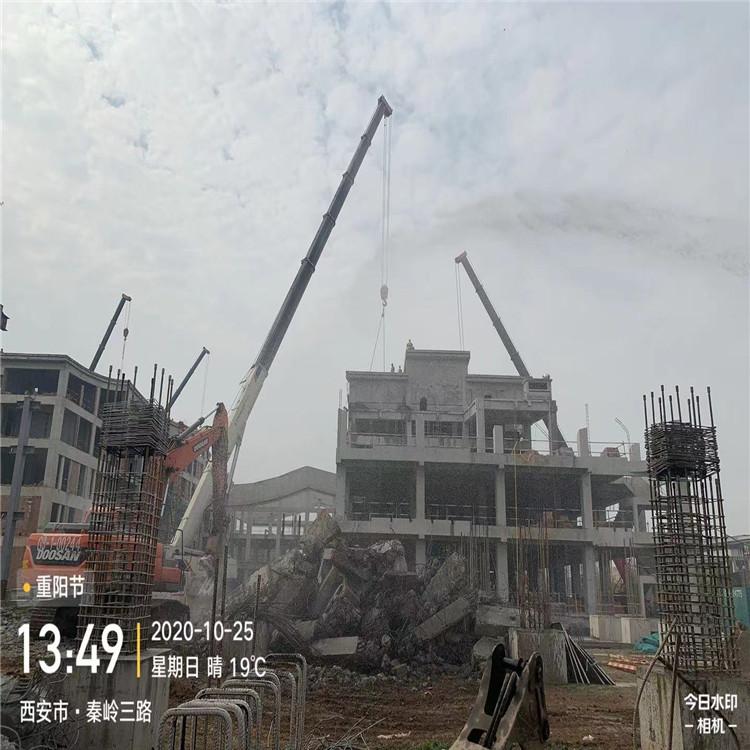 陕西西安房屋拆迁拆除 废弃楼房拆除全国施工
