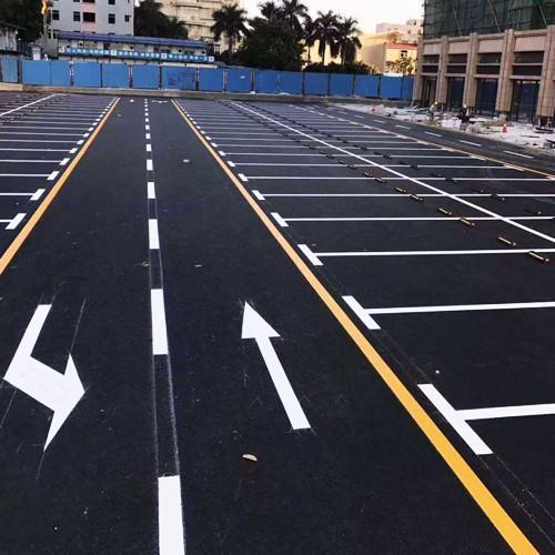 道路划线 热熔划线 常温冷漆划线 彩色防滑划线 厂家直销带施工