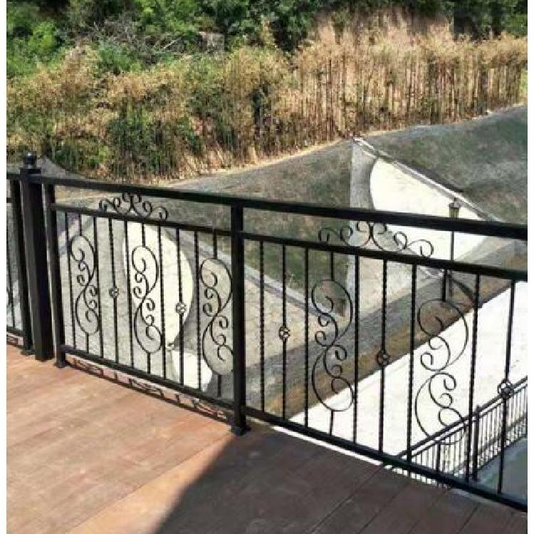 工厂围墙护栏 铁艺护栏 小区围墙护栏 山晋铁艺装饰