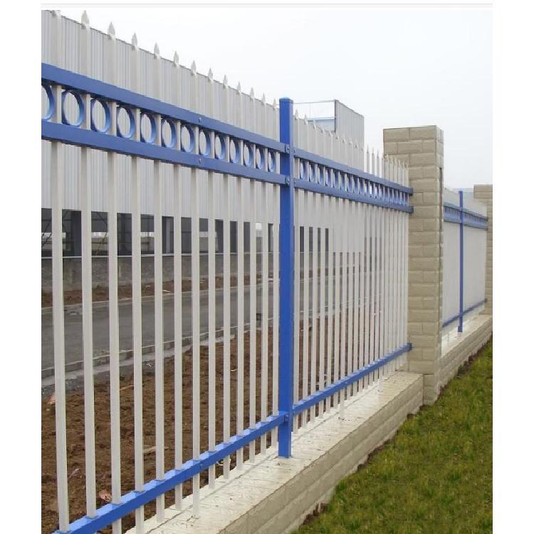 防攀爬防护栏隔离栅厂家直供可定制 锌钢护栏小区别墅学校围墙栏杆