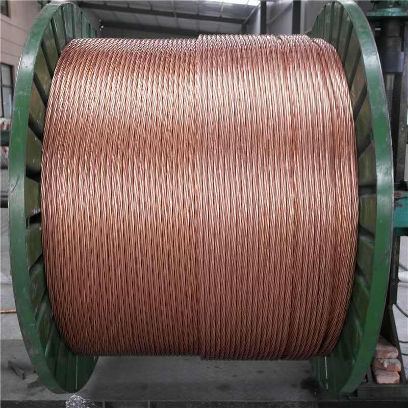 钢包钢绞线 钢包钢绞线厂家直销 新疆钢包钢绞线