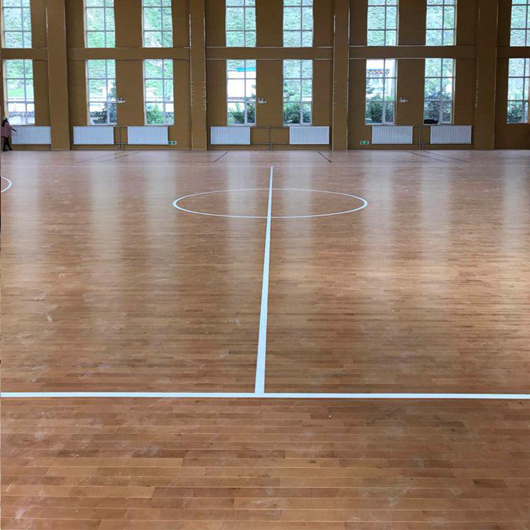 西安运动木地板一体化服务商  A级枫木场馆木地板 全国上门