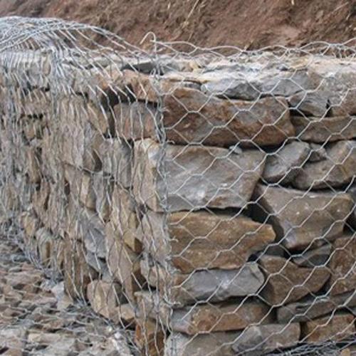 厂家直销  铅丝石笼网护垫 河道治理石笼网 金天元量大从优