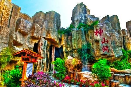 南京景观园林假山设计 专业厂家定制