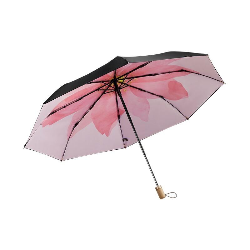 礼品采购【蕉下】 小黑伞系列双层三折伞 太阳伞雨伞