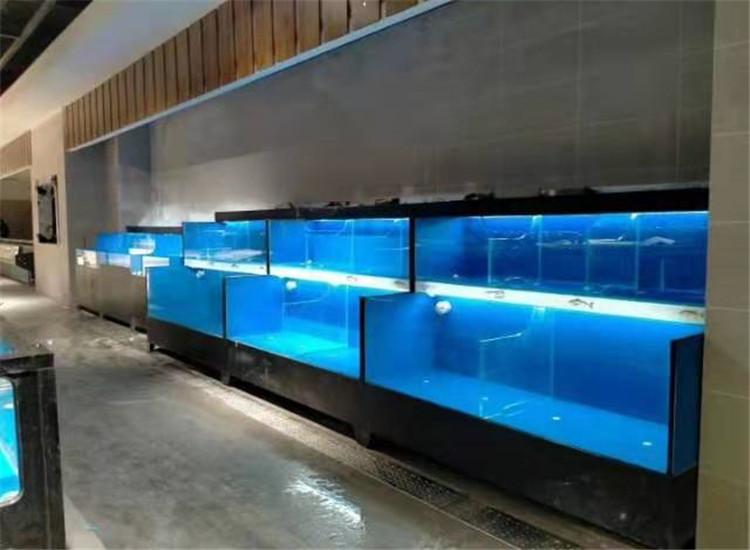 贵州供应一体移动海鲜池定做批发 价格优惠