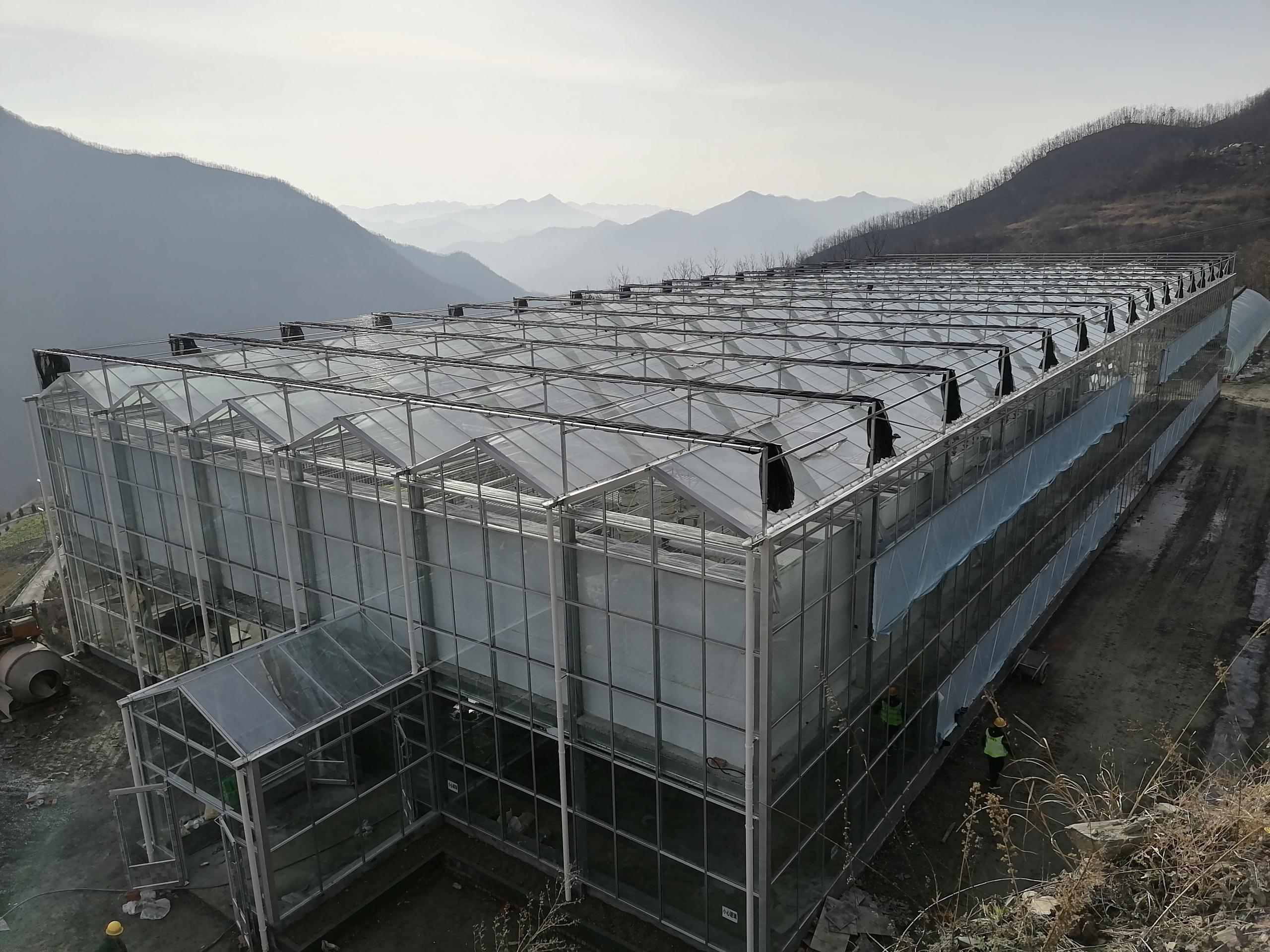陕西玻璃温室加工安装