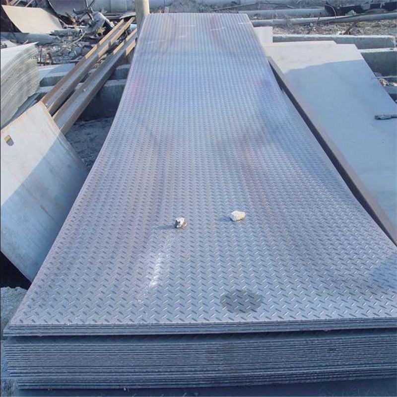 西安开平板 花纹板 中板剪板 这边冲孔 激光加工 花纹板