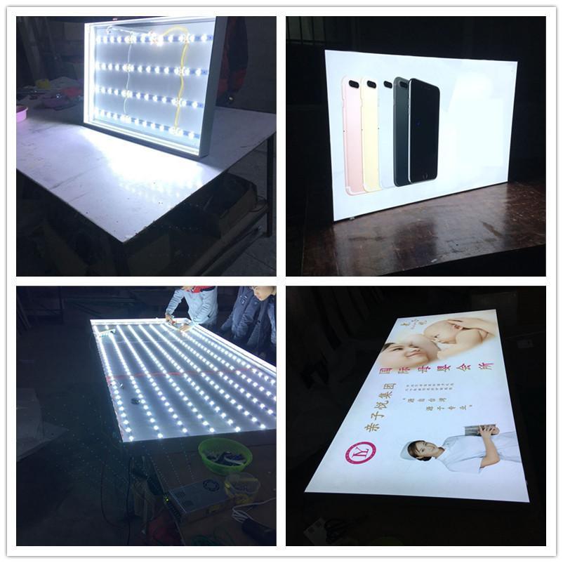 批发定制卡布灯箱 超薄灯箱 无框灯箱及各种灯箱配件