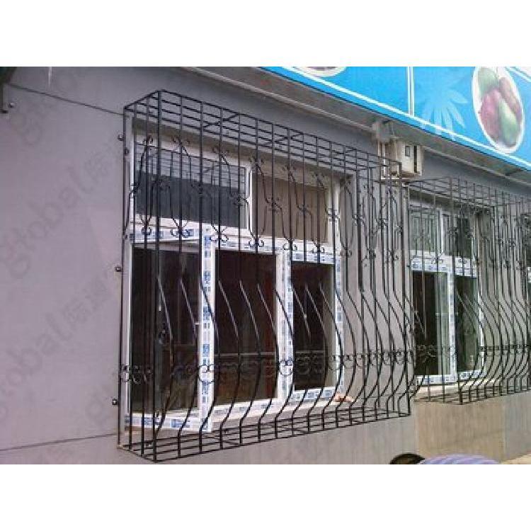 西安厂家直销 欧式豪华别墅铁艺护窗 金属防盗窗铁艺窗花自产自销批发