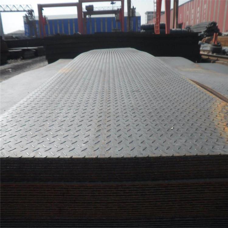 花纹板厂家直销  薄花纹板加工 钢铁厂家加工