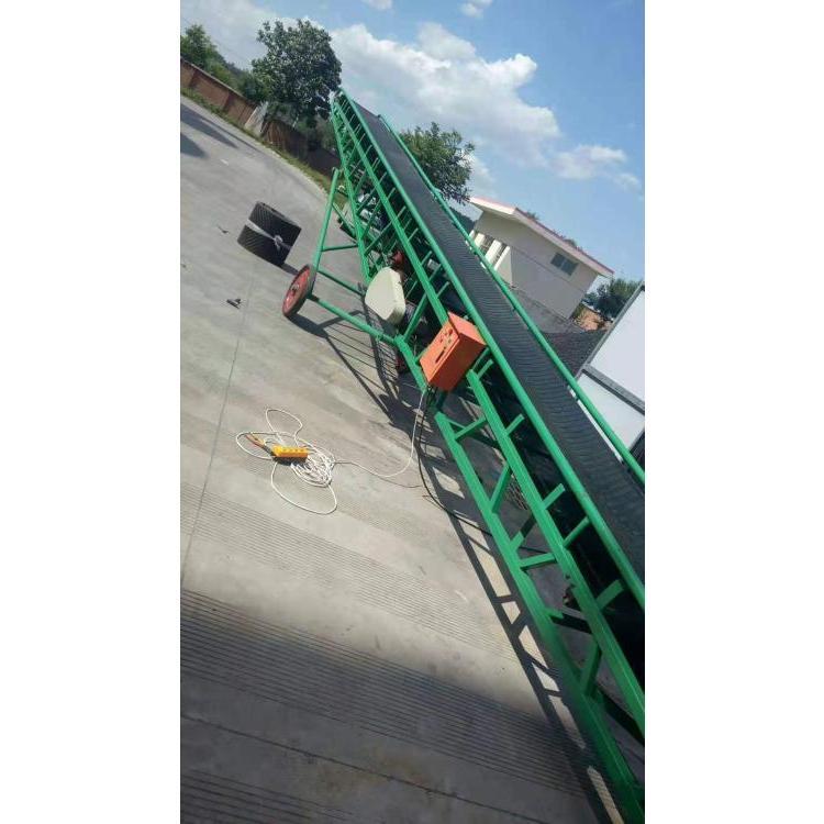 移动式皮带输送机 装车卸车用胶带输送机 传送带厂家