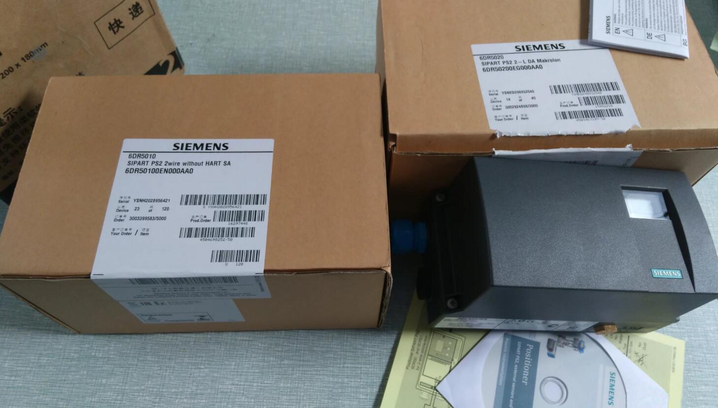 西门子SIPART PS2 智能电气阀门定位器6DR5010-0EG00-0AA0