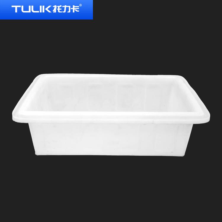 塑料盆椭圆形浅盆牛筋水箱长方形养殖专用洗澡大号加厚耐用批发
